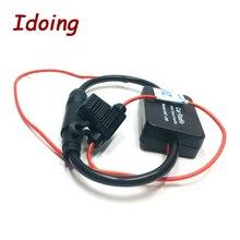 Idoing для универсального автомобильного радио 12 В, FM антенна, усилитель сигнала, усилитель для морского автомобиля, лодки, 330 мм, FM Усилитель
