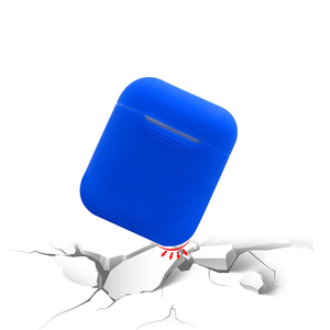 Image 3 - Cassa molle Del Silicone Auricolari per Apple Airpods Senza Fili di Bluetooth del Trasduttore Auricolare Coperchio Della Scatola di Protezione Della Pelle per Air Baccelli Orecchio Baccelli Borsa