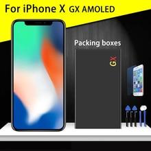 Класс AAA высокое качество для iPhone X GX OLED AMOLED ЖК-дисплей стекло дисплей сенсорный экран сборка Замена Pantalla TFT ЖК-дисплей Бесплатная доставка