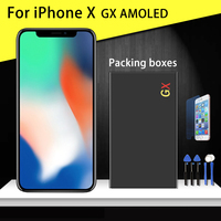 Grade AAA Top Quality For iPhone X GX OLED AMOLED LCD Glass Display Touch Screen Assembly Replacement Pantalla TFT LCD Free ship