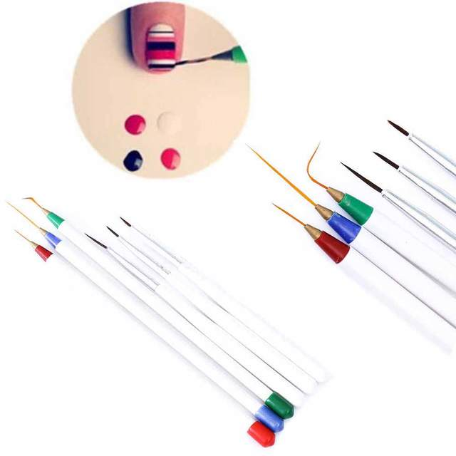 Aliexpress Buy Tomtosh Set 6pcspack Fine Drawing Striping
