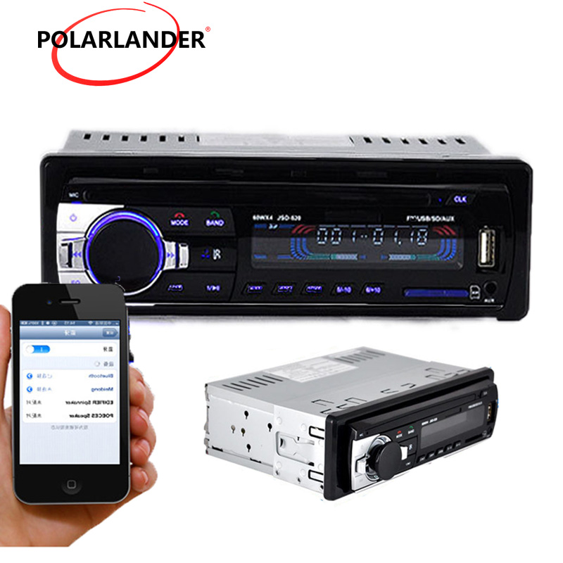 2018 newest USB FM MP3 player Audio Stereo 1 Din Remote Control Car radio Bluetooth hand