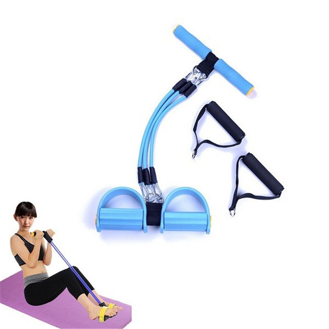 a54e6d3a5608 New Latex Resistance Training Bands Pull up Body Trimmer Exercise Pedal  Exerciser Body Fitness Yoga Equipment