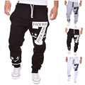Free Shipping Men's Casual Pants Digital 7 Print Design Fashion Large Size High Quality