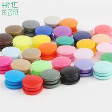 Hot Sale 20Sets T5 12mm Round Plastic Snaps Button Fasteners Garment Accessories For Baby Clothes Clips Quilt Cover Sheet Button(China)