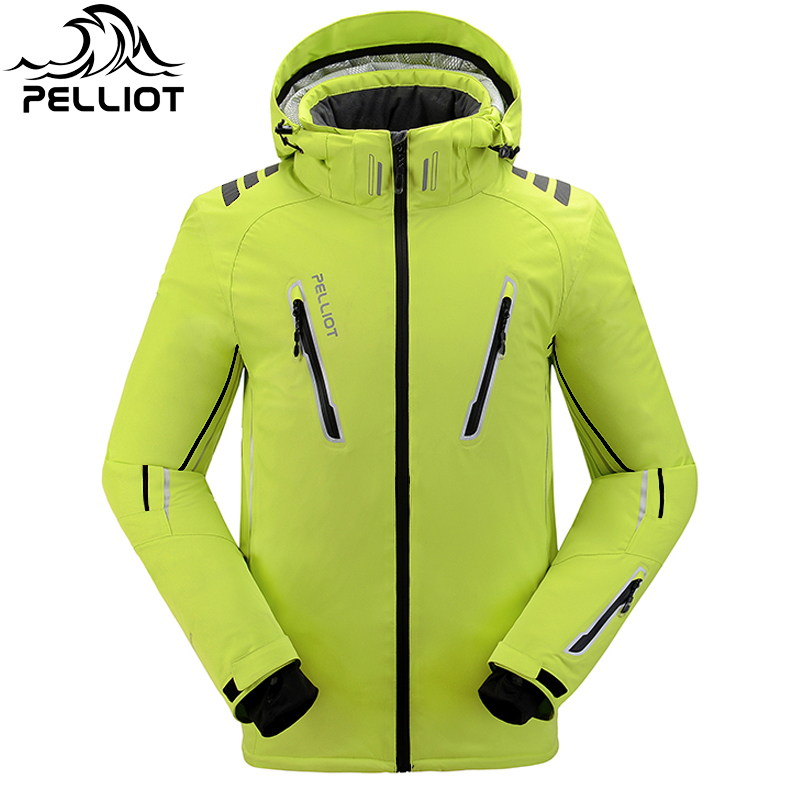 Wholesale Polo  Winter Ski Jacket Set Snowboard Skiing Pants Pelliot Waterproof Snow Ski Jacket Men And Women Mammoth Jacket