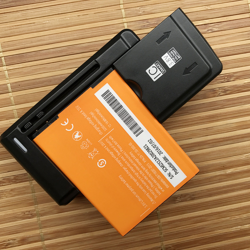 Runboss Battery For Elephone P2000 P2000C / Star C1000 / Mlais Note Pro / Mijue M880 / Otium Z2 Cell Phone With LED Charger ...