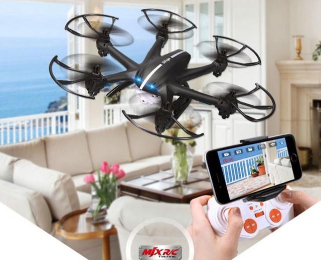 Mjx X800 2.4 G 6-Axis RC Quadcopter Drone helicóptero puede añadir C4010 y C4005 FPV cámara juguetes