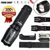 1Set High Quality 5000 Lumen G700 Zoom LED Flashlight X800 Military Lumitact Torch Battery Charger AAA