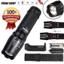 1Set 5000 Lumen G700X800 Zoomable LED Flashlight Military Lumitact Torch Battery Charger AAA 18650 NOA28