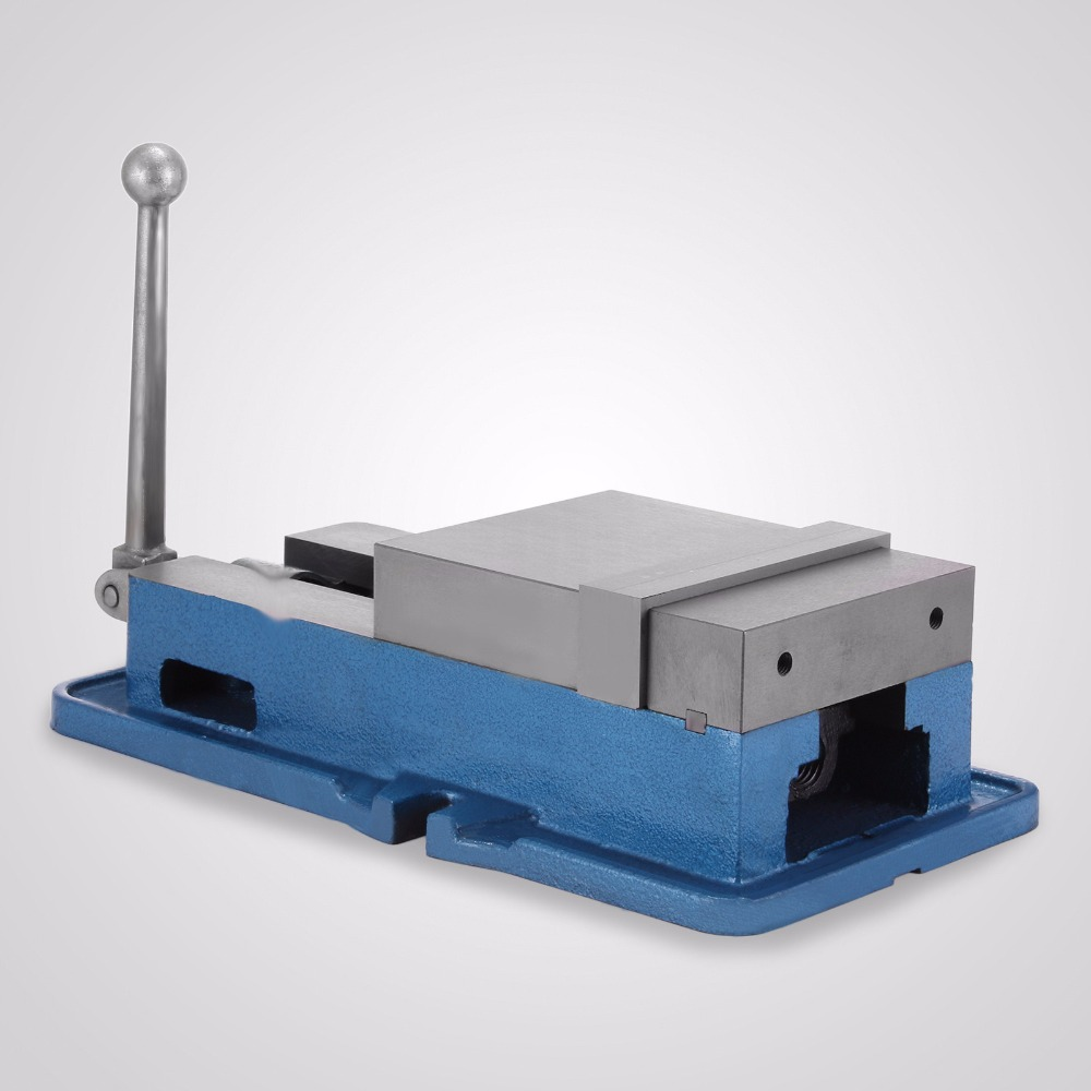 6 Inch Jaw Width Milling Drilling Machine Precision Milling Vise 6 Inch ACCU Lock Vise with Lock Down Vise Bench Clamp