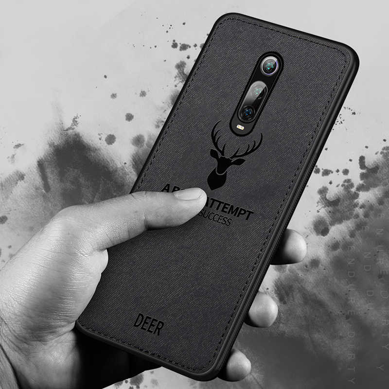 Funda de tela para mi 9T Pro Red mi K20 Pro funda de teléfono trasera con diseño de Animal para CC9 CC9e caso a prueba de golpes