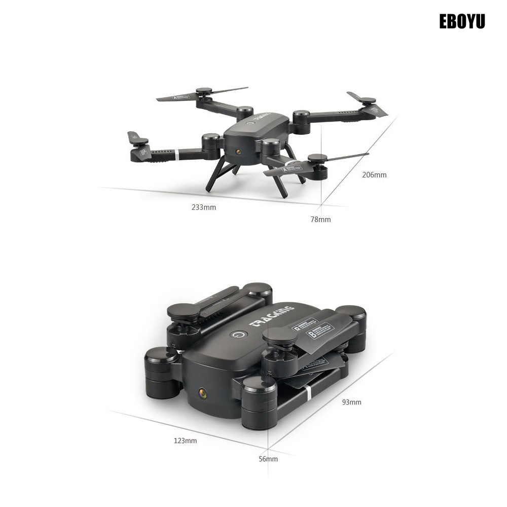 af91bcc4258 ... EBOYU QS005 Sky Hunter Foldable Rc Selfie Drone with Wifi FPV 2.0MP HD  Camera Altitude ...