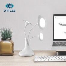 Сенсорная настольная лампа morning glory art flower офисное
