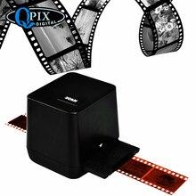 Portable Negative Film Scanner 35mm 135mm Slide Film Converter Photo Build-in Editing Software USB Cable Scanner for Picture high resolution 35mm 135mm negative film