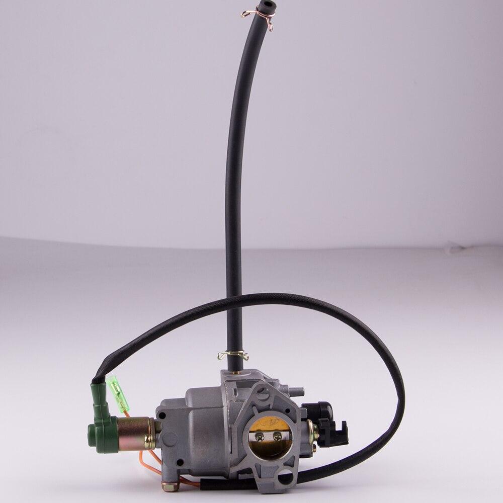 Hohe qualität 188F 190F benzin generator Vergaser 5kw 6kw 188F 190F GX390 EC6500 motor auto vergaser kit