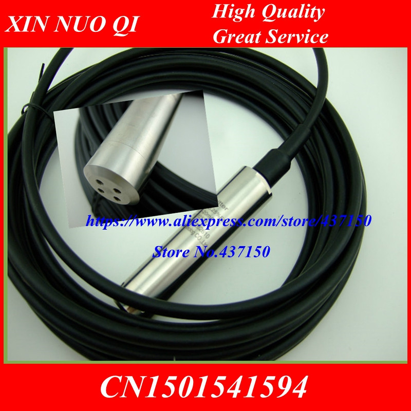 5m 10m 15m 20m Waterproof Explosion proof Cable Submersible Level Transmitter Level Transducer Level Sensor 4