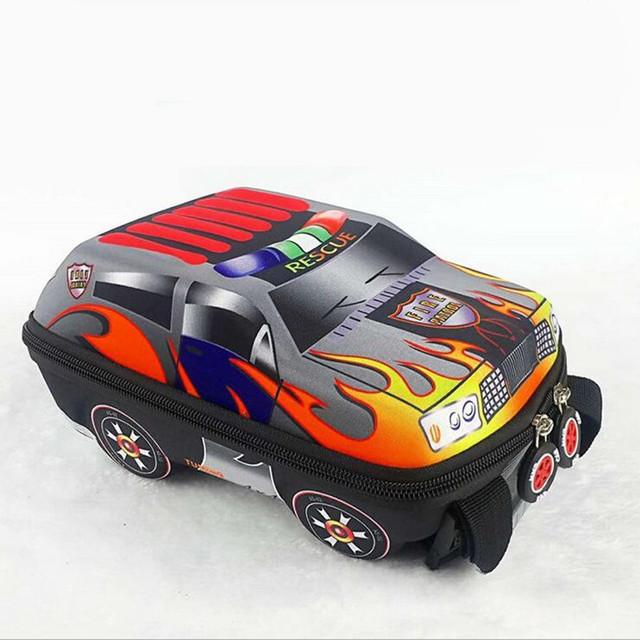 3D Car barn skolesekker for gutter nydelig Toddler barneryggsekker barn ryggsekk for barn