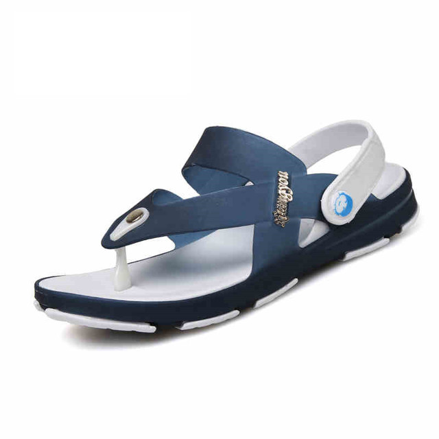 The new summer sandals men 's non - slip young beach shoes tide SUB2658