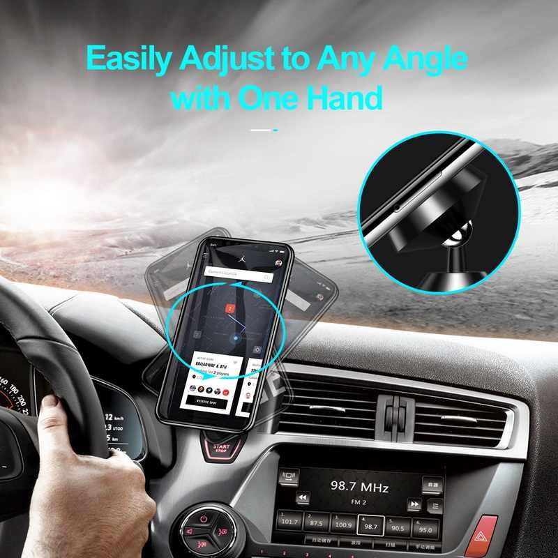 Getihu magnético suporte do telefone do carro para o iphone samsung ímã montar suporte do carro para o telefone no telefone celular do carro suporte gps