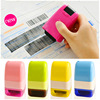 Japanese Korea Stationery Portable Mini Roller Secrecy Stamp Garbled Seal Graffiti Seal Teacher Secrecy Stamp