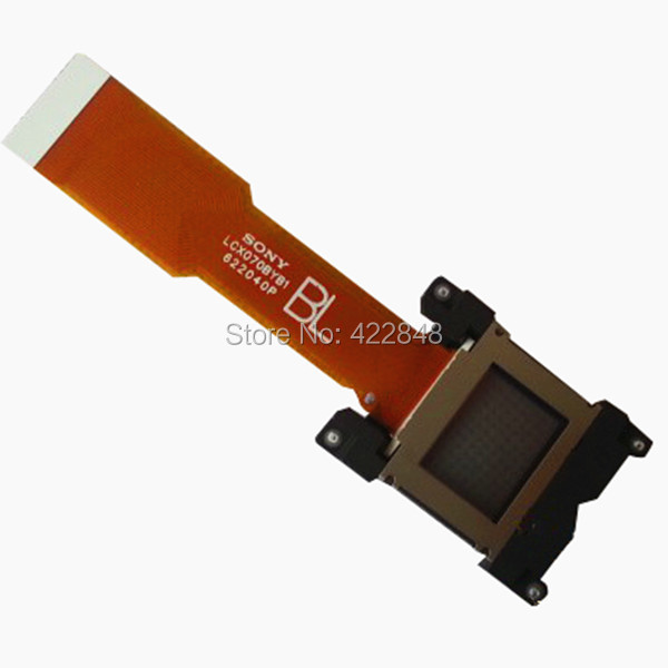 NEW origrinal Projector LCD panel LCX070 for SONY CX120/CX130/CX131/CX161 projector lcd panel prism lcx101 for sony vpl ex121 projector