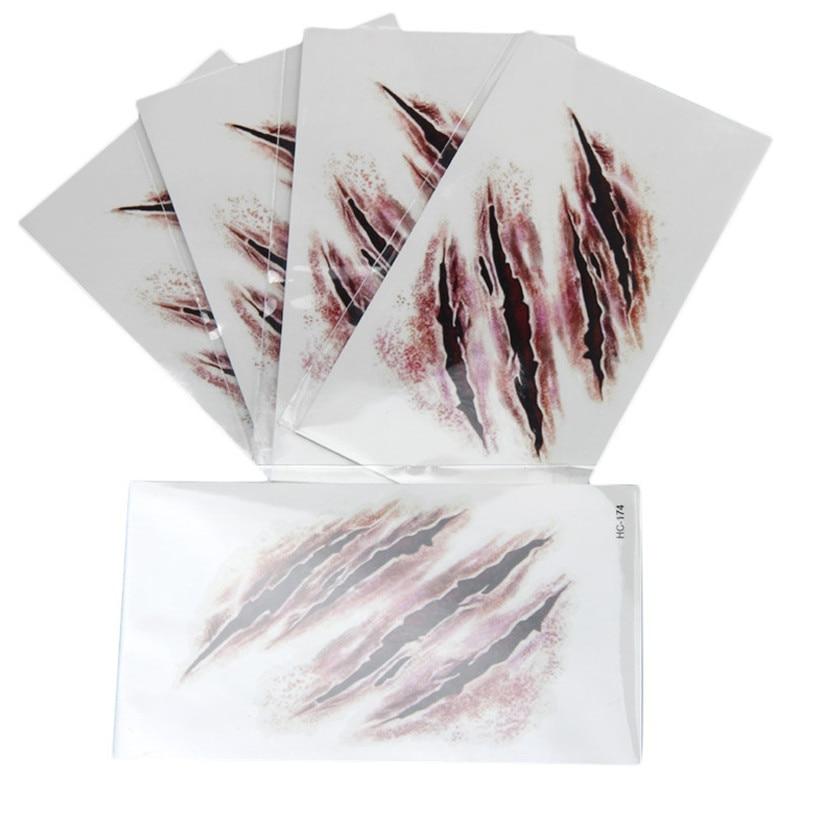 Autocollants de tatouage de la mode 1PC feb8dropship de papier de transfert de tatouage imperméable à l'eau provisoire