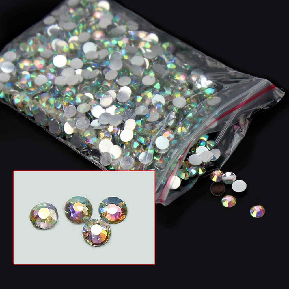1000x14 facetten harz strass edelstein flache rückseite kristall ab perlen 4mm diy für kleiderbeutel shose new heißer