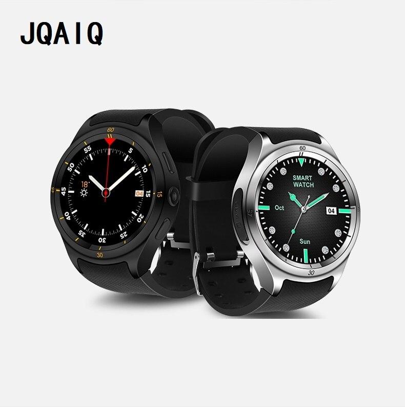Di lusso orologio Intelligente 3g Orologi Da Uomo 1 gb + 16 gb di Memoria di Grandi Dimensioni WiFi GPS Smartwatch di Sostegno SIM ip67 nano impermeabile Fotocamera DA 3.0 MP iOS