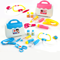 11 PCS New Simulation Doctor Toys Classic toys Simulated Nurse Medical Doctor Tool Box  baby kids Medicine Toys Pretend Play