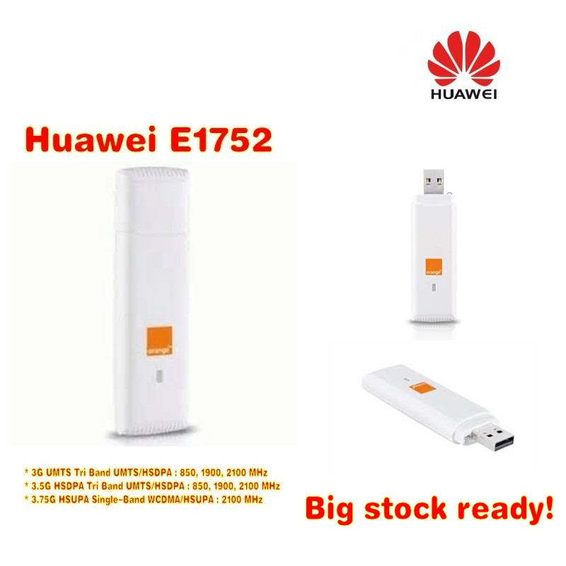 Unlocked Huawei E1752 3g Hsdpa USB Wireless Modem Dongle  7.2mbps Network Card