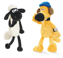 Little sheep and the dog plush toy doll cloth art class The new puppet doll gifts