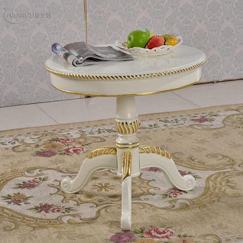 Coffee table, classical fashion, European style, solid wood coffee table brin coffee table