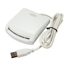 Universal micro usb lector de tarjetas inteligentes emv escritor todo en uno profesional Para ISO 7816 Lector de Tarjetas EMV Chip Etiquetas con Conductor CD