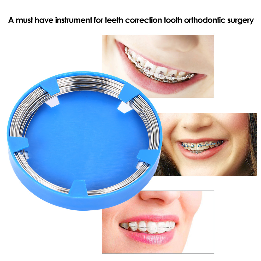 Stainless Steel Dental Wire Professional Dentist Orthodontic Jaw Wiring Surgery 1