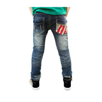 Kids Brand Jeans Spring Children Clothes 2017 Children Autumn New Children Slim Long Pants Trousers Toddler