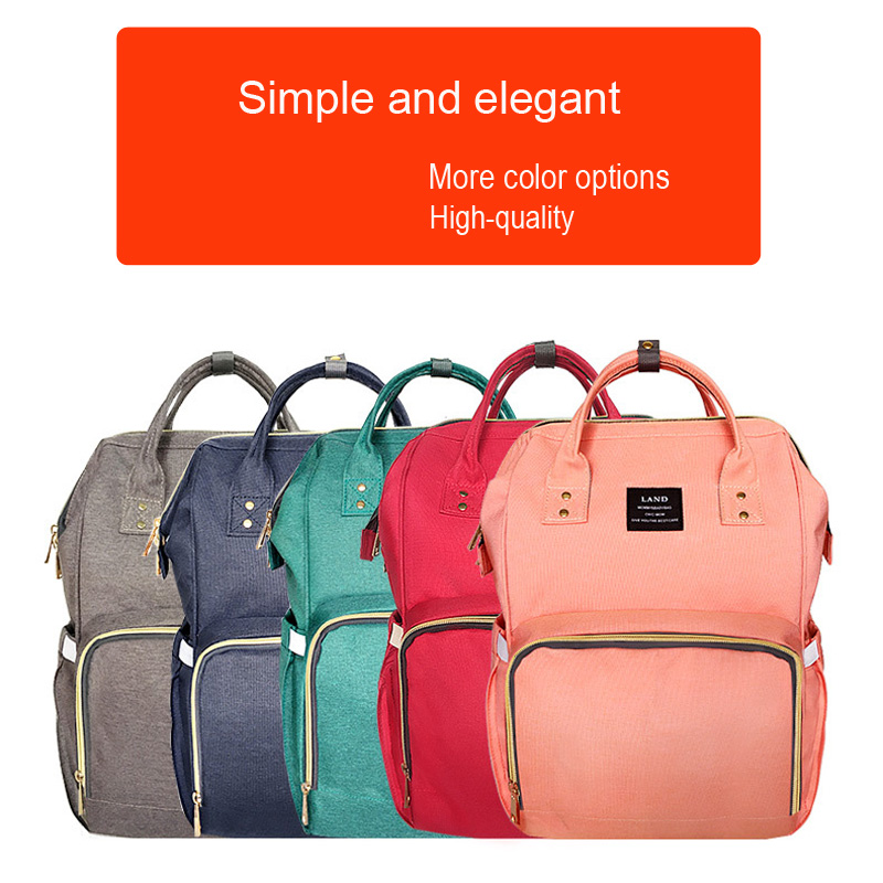 Landuo Multiple Backpack Hand held Maternity Mummy bag Portable Nappy Bag Large Capacity Travel Nursing Bag for baby stroller in Diaper Bags from Mother Kids