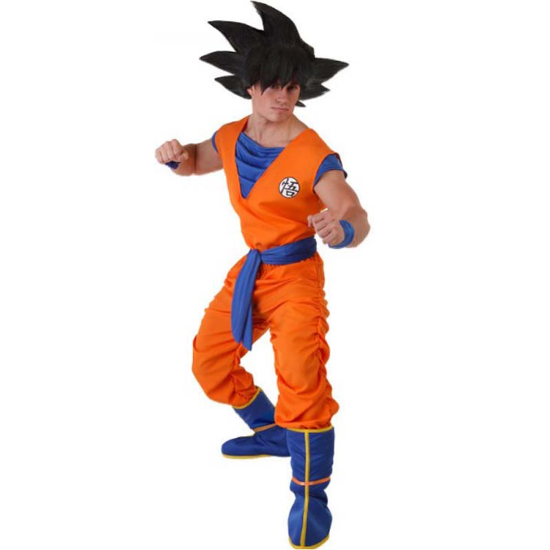 Japanese Anime Dragon Ball Z Suit Son Goku Cosplay Costumes