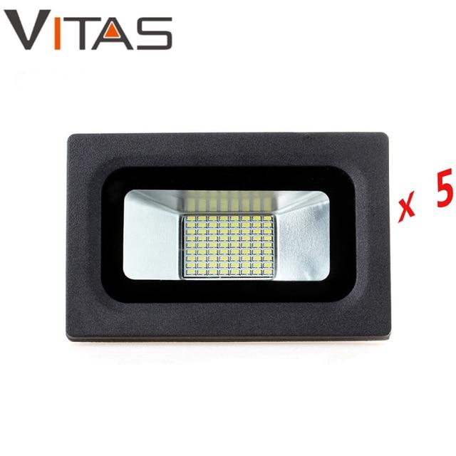 5 pcs lot led flood light 15w 220v 110v proyector refletor. Black Bedroom Furniture Sets. Home Design Ideas