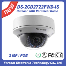 Dome Camera DS-2CD2722FWD-IS night camera Hikvision cctv camera IP66 2MP HD
