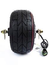 Powerful 48v 800w  10  Fat Hub Motor Vacuum Tyre 10-6-5.5 Wide Tyre Scooter Motor EVO Engine Motor ATV Hub Motor atv tyre