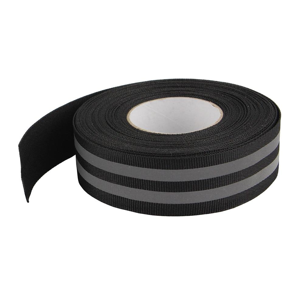 Home & Garden Width50mm*hot Post Width 20mm Flame Retardant Reflective Fabric Tape Strip Edging Braid Trim Reflective Webbing Sew On Last Style