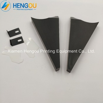 5 Pairs=10 Pieces Heidelberg SM52 Ink Fountain Insert End Plate Size 110×52.5x14mm