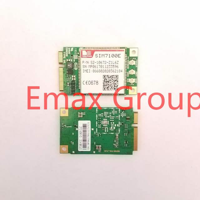 SIM7100E SIMCOM MINI PCIE low cost 4G LTE-FDD/LTE-TDD module pin to pin  SIM5320 support GPS GNSS USB Voice 100% New Original