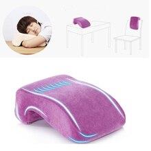 Офисные подушки для сна, настольная Подушка на стул, L форма, подушка для пены памяти, чудесные офисные домашние подушки для сна
