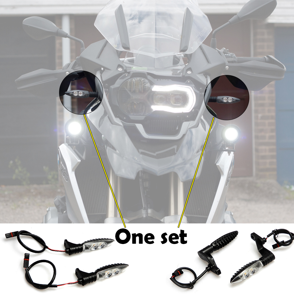 Front and Rear Indicators for BMW R1200 R 2006 K1300R F800R 09-14 Turn Signal Lights R 1200 GS ADVENTURE 2006-2013 feu led tmax 530