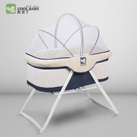 Coolbaby Cribs European Style Free Installation Of Multi Function Game Bed Baby Foldable Portable Travel Cradle