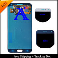 Envío Libre 100% probado Pantalla LCD de Pantalla Original Para Samsung Galaxy E7 E7000 LCD Del Digitizador Assembly-Negro/Blanco/oro