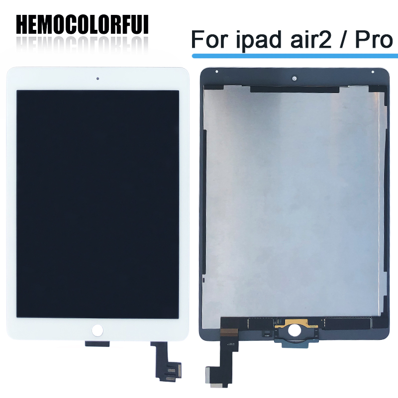Nouveau 9.7 Pour Apple ipad Air 2 ipad 6 A1567 A1566 Lcd Full Display Avec Écran Tactile Digitizer Assemblée Panel complète