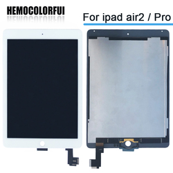 Nuevo 9,7 para Apple ipad aire 2 ipad 6 A1567 A1566 pantalla Lcd completa con pantalla táctil digitizador Panel Asamblea completo